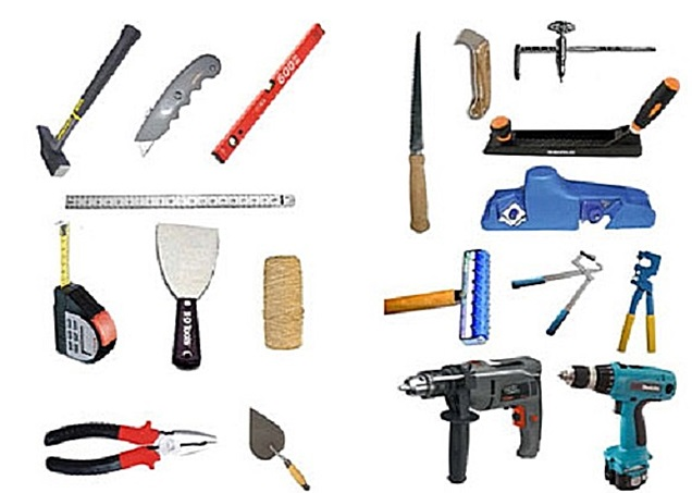 Набор инструментов для выполнения работы