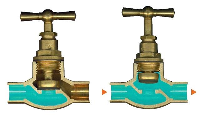 Запорная арматура с возможностью регулирования проходящего потока