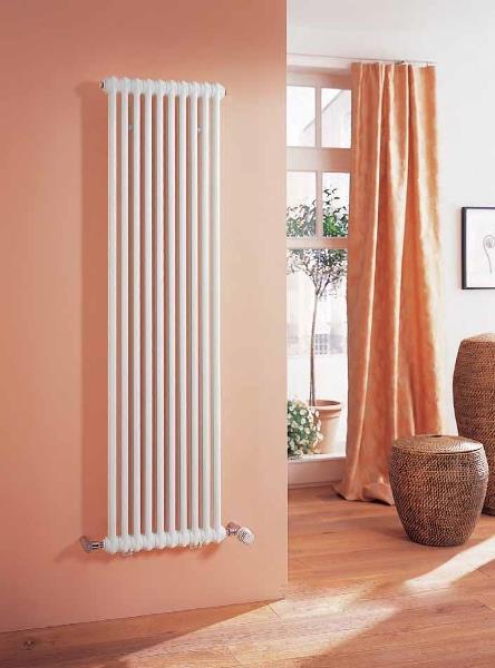 Радиатор в вертикальном исполнении