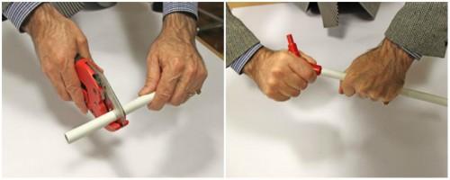 как правильно соединять металлопластиковые трубы
