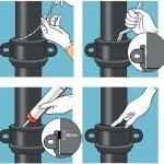 5 способов, как соединить чугунную трубу с пластиковой