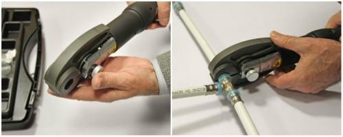 пресс соединение металлопластиковых труб