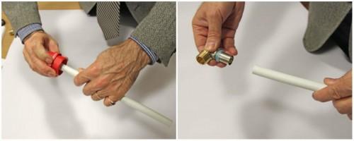технология соединения металлопластиковых труб