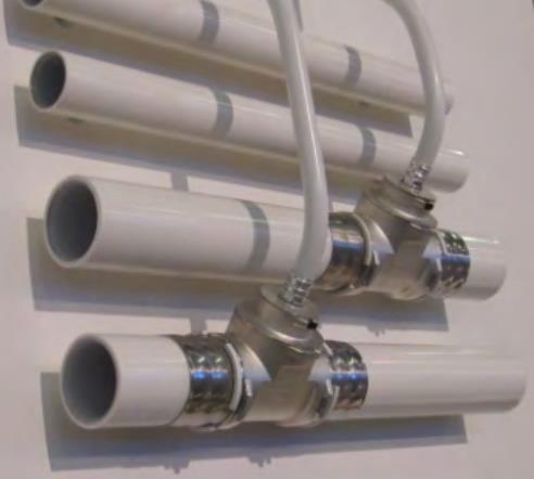 Готовое соединение металлопластиковых труб