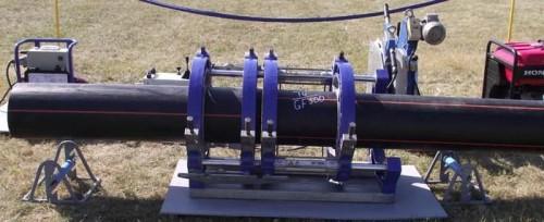 Соединение газовых ПЭ труб