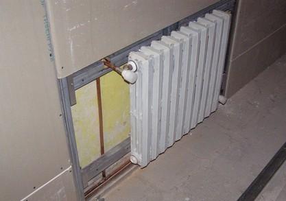 замена труб и радиаторов отопления