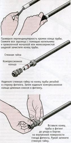 соединить металлопластиковую трубу с полипропиленовой