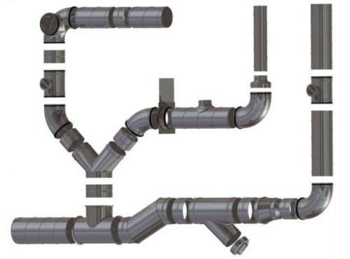 вентиляционные трубы пвх