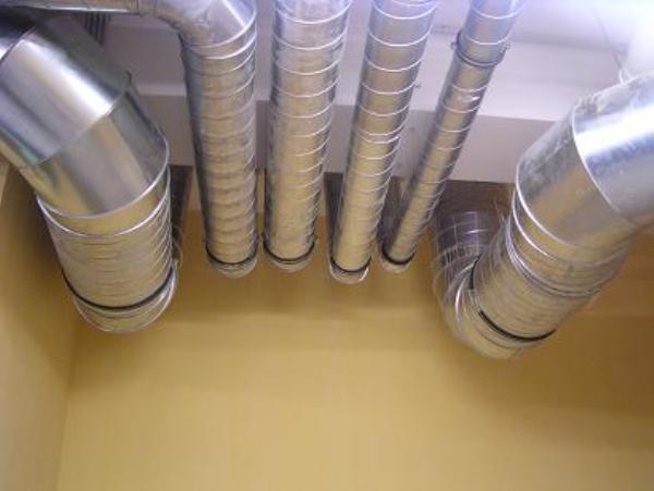 вентиляционная труба прямоугольная
