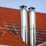 Как подвести вытяжную трубу к газовой колонке или котлу