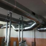Как проложить оцинкованные вентиляционные трубы