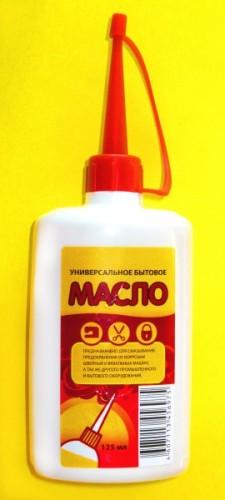 Смазывать трос можно только бытовым машинным маслом