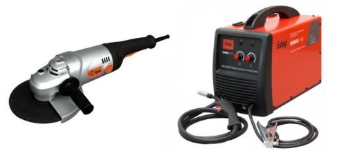 Необходимые инструменты – болгарка и аппарат для сварки