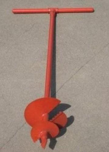 Приспособление для выемки грунта в местах установки несущих столбов