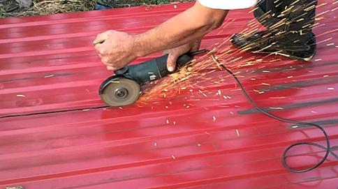Подготовка материала для обшивки