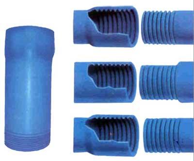 Обсадные трубы, произведенные из пластика (ПВХ)