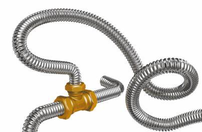 Гофрированная труба, применяемая для обустройства теплого пола