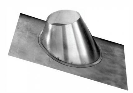 Металлический фартук для изоляции крыши