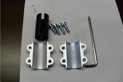 Специальное устройство для устранения течи трубы