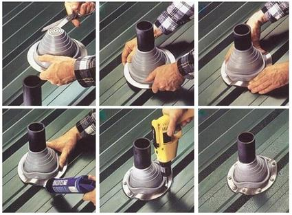 Инструкция по монтажу резиновой манжеты на трубу