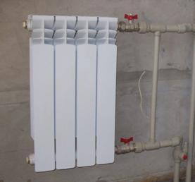 Вентили в системе отопления жилого помещения