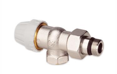 Вентиль для установки на трубу, выходящую из стены