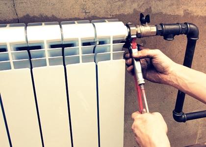 Установка нового вентиля на отопительную систему