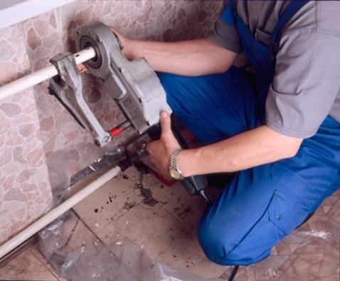 Подготовка к фиксации вентиля