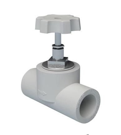 Вентиль для полимерного трубопровода