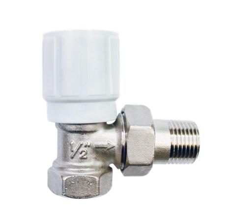 Вентиль для монтажа на сгибе трубопровода
