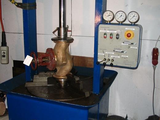 Проверка прочности запорной арматуры
