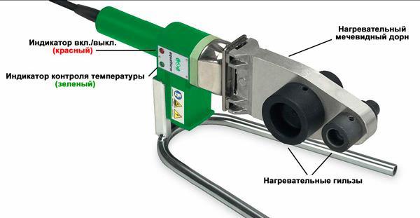 Ручной прибор для сварки полипропилена