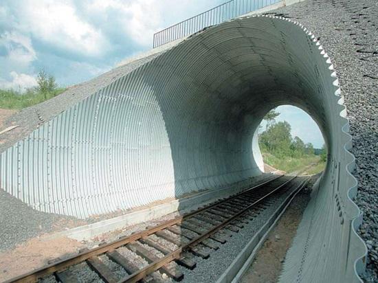 Изготовление тоннеля из гофрированной трубы