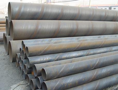 Сварные стальные трубы со швом в виде спирали