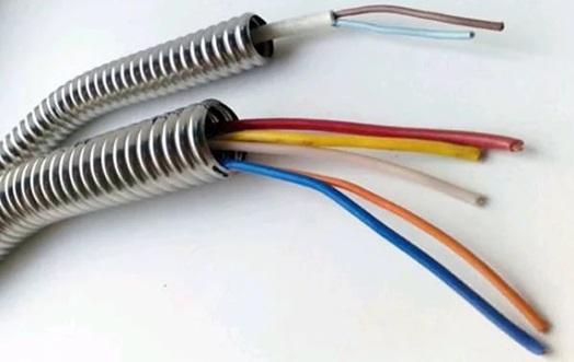Использование гофротруб для защиты электрокабеля