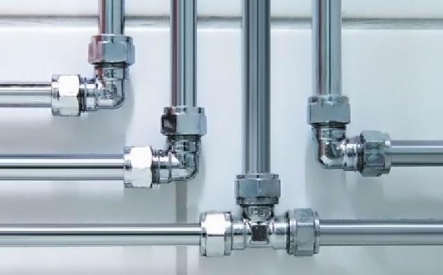 Система водоснабжения из оцинкованных труб