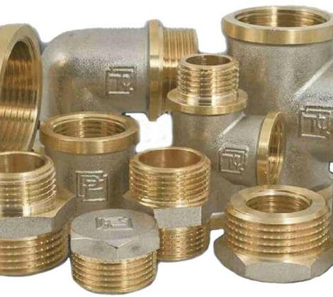 Латунные соединительные элементы для сборки трубопровода