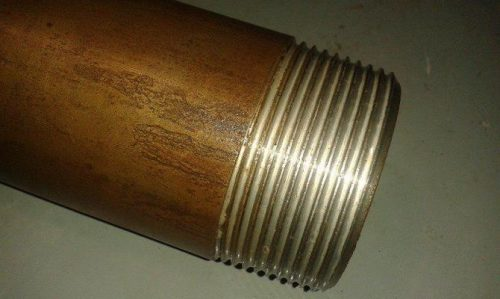 Резьба, нанесенная на трубу для дальнейшего соединения деталей