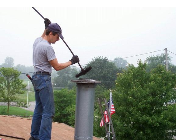 Прочистка дымовой трубы