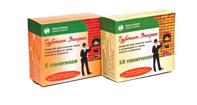 Порошок в пакетиках Трубочист-Экспресс