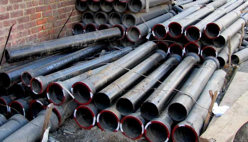 Трубы из чугуна для системы канализации