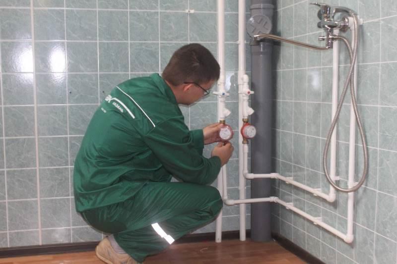 Установка счетчиков в систему водоснабжения