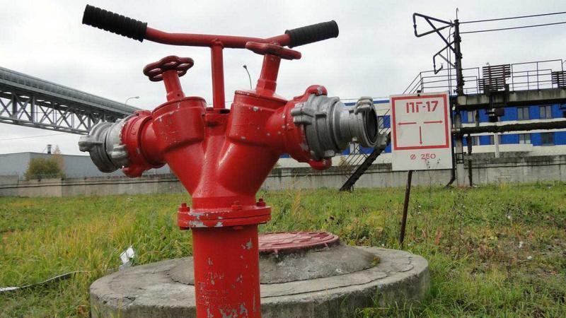 Наружная система для пожаротушения