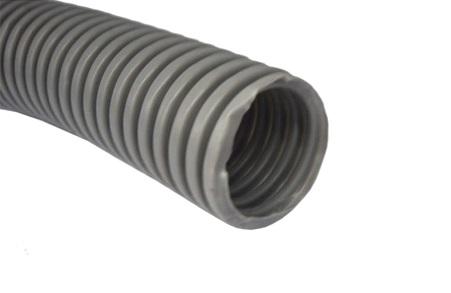 Гофрированная труба, изготовленная из пластика