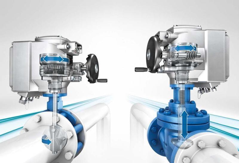 Различия между однооборотным и многооборотным электроприводом