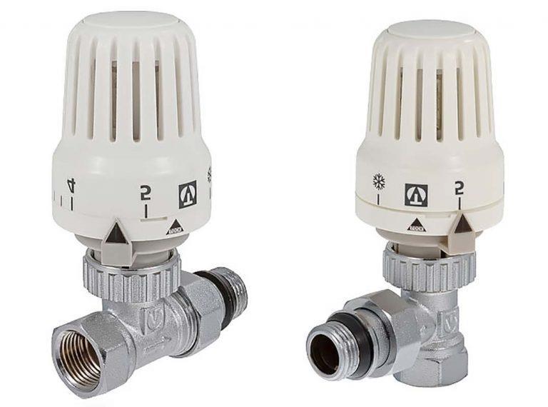 Прямой и угловой терморегулятор