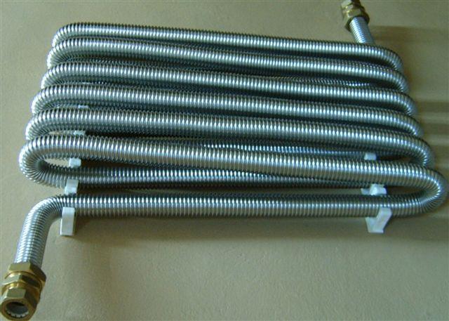 Радиатор из гофрированной стали