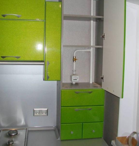 Применение мебельных фасадов