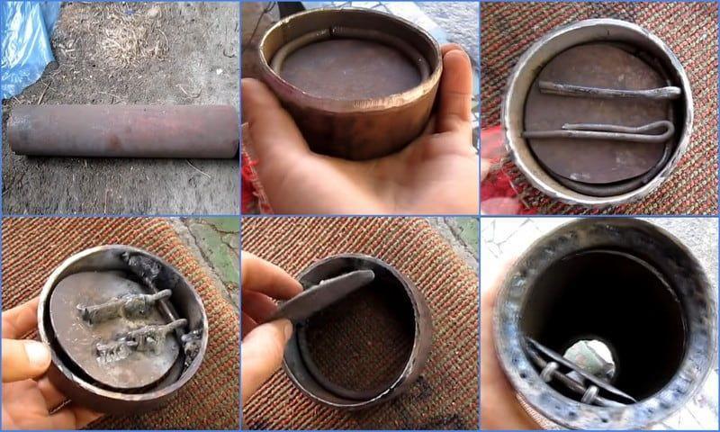 Металлический клапан