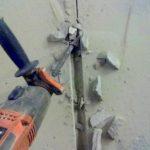 Как выполняется штробление стен под трубы